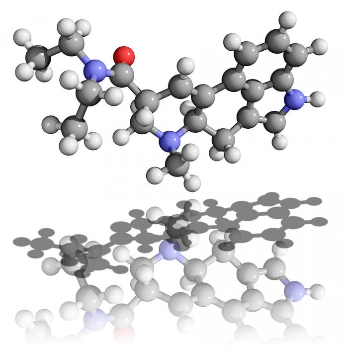 In fact, the mind is performing tremendous job keeping it all together,  so that the fragile body can navigate through the environment for several decades without getting destroyed - as this LSD molecule shows