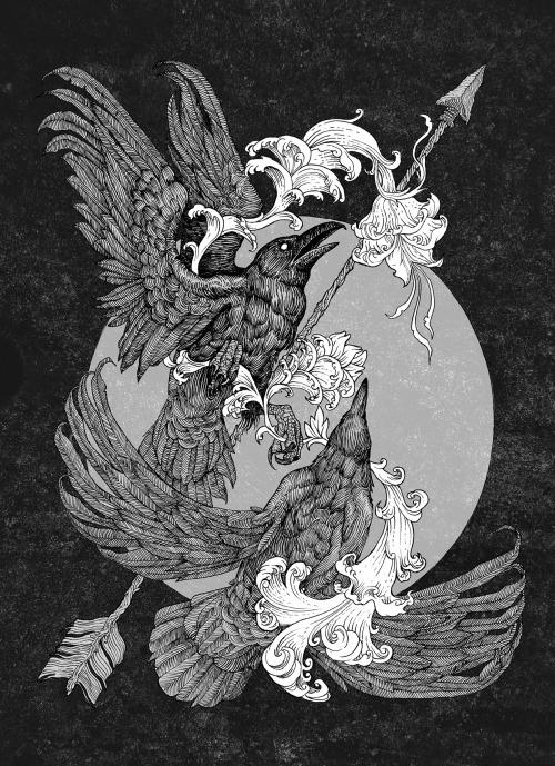 monochrome-archetype-birds